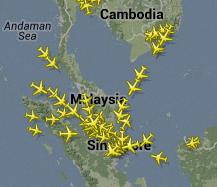 Malaysia Airlinesin lento 370 on bugi